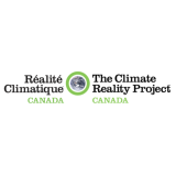 Logo Projet de la réalité climatique Canada