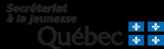 Logo Secrétariat à la jeunesse du Québec