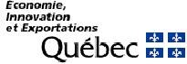 Logo Économie, Innovation et Exportations Québec