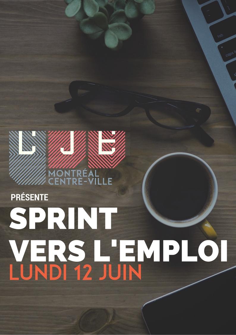 Image Sprint vers l'emploi – 12 Juin