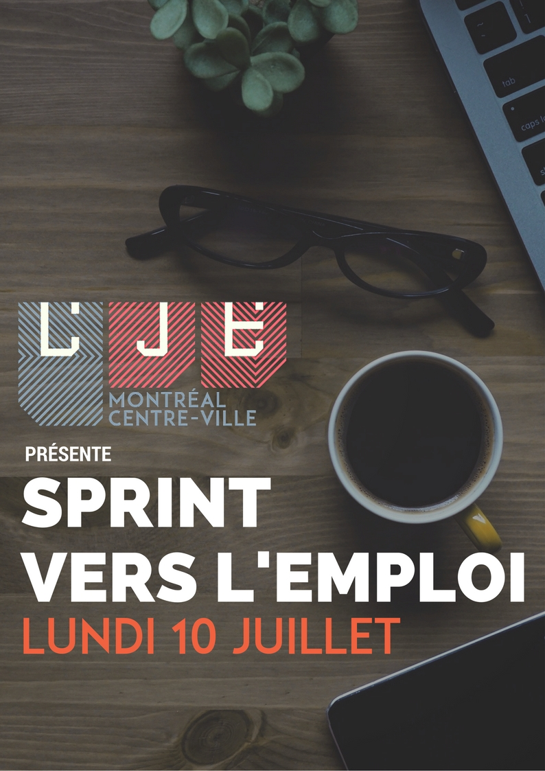 Image Sprint Vers L'emploi – 10 Juillet