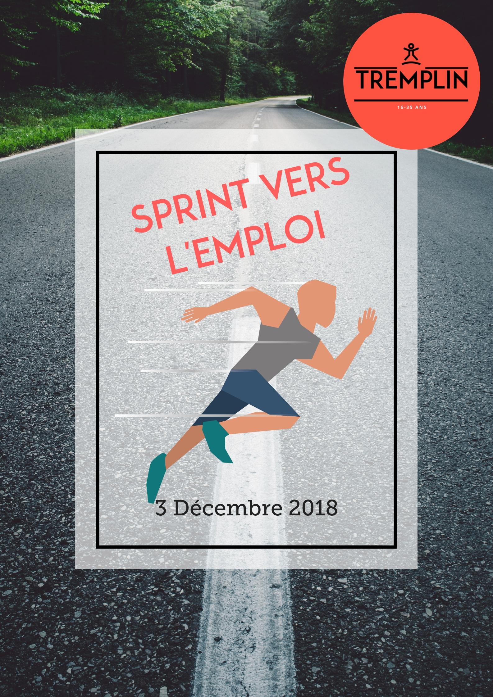 Image Sprint Vers L'emploi – 3 Décembre