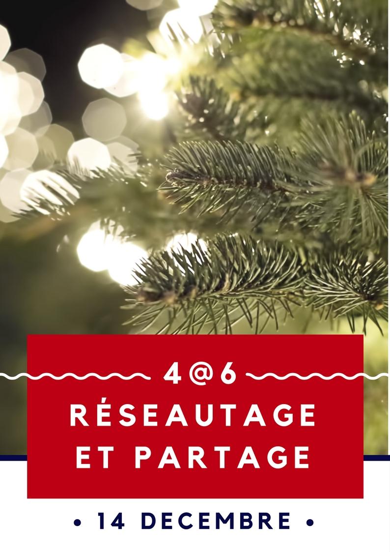 Image 4@6 Réseautage et partage – 14 Décembre – Édition Temps des fêtes