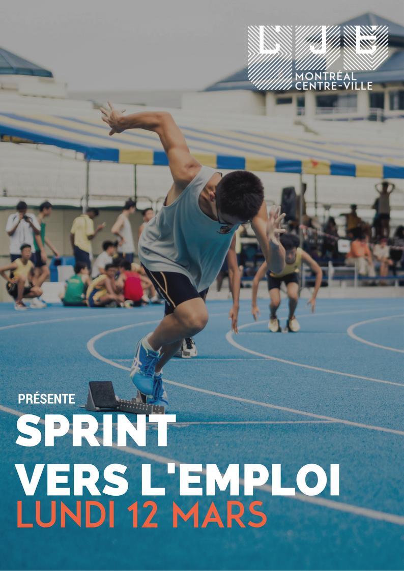 Image Sprint vers l'emploi – 12 Mars