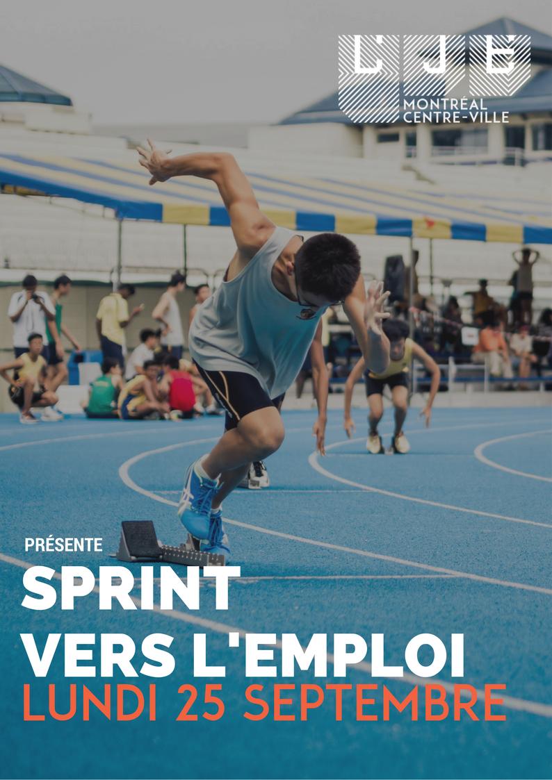 Image Sprint vers l'emploi – 25 Septembre