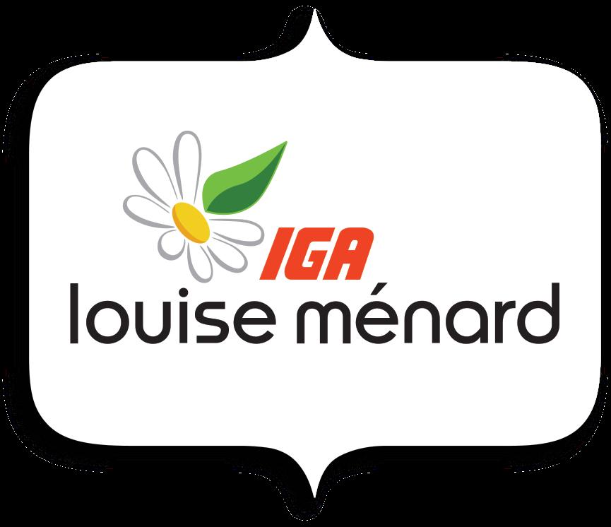 Logo Les Marchés Louise Ménard Inc.