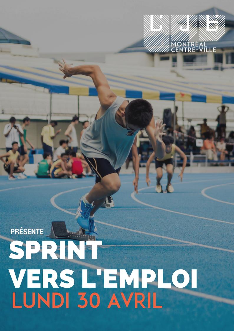 Image Sprint vers l'emploi – 30 Avril