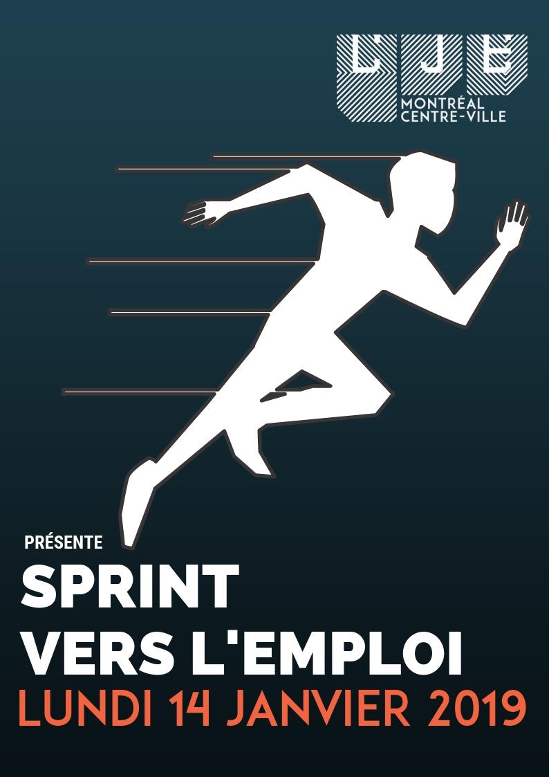 Image Sprint vers l'emploi – 14Janvier