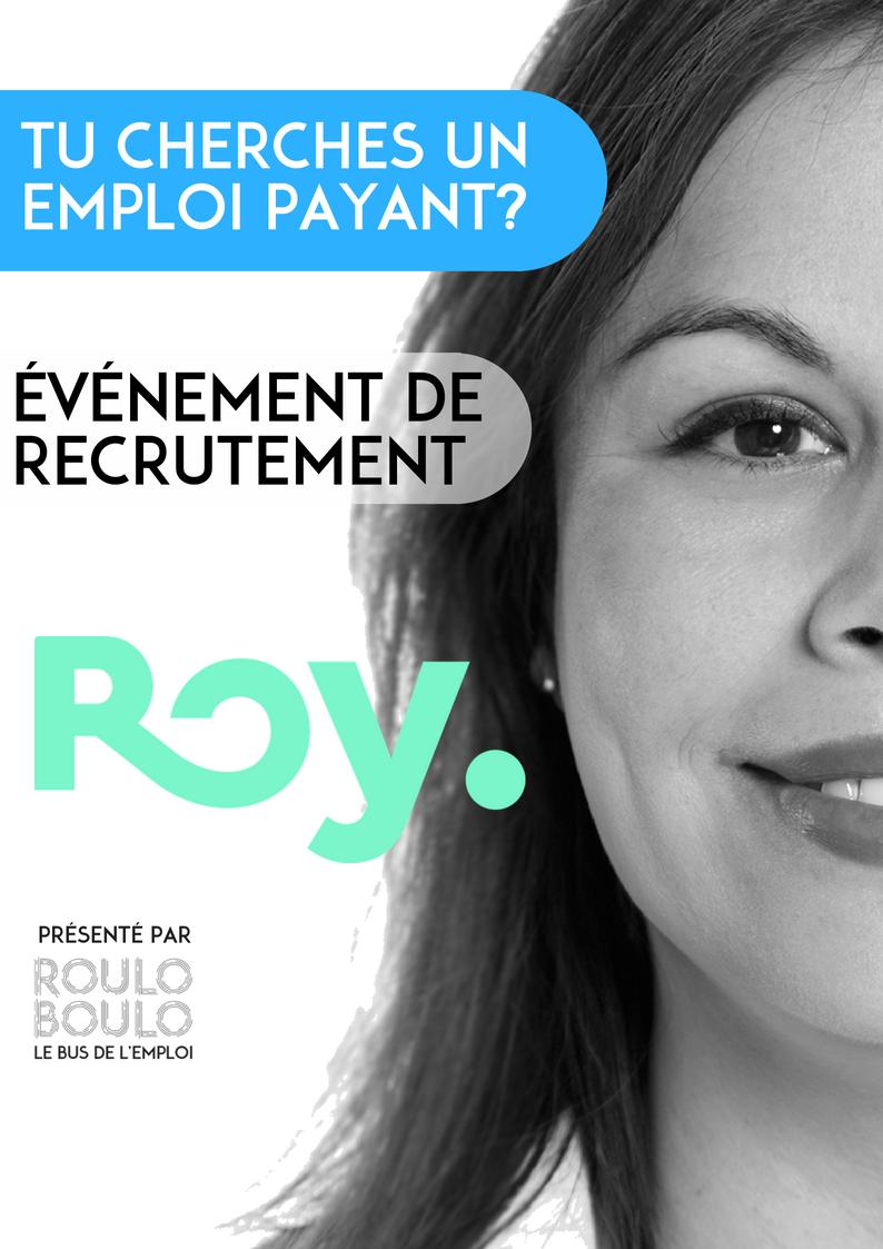 Image ÉVÉNEMENT DE RECRUTEMENT – ROY 28 JUIN