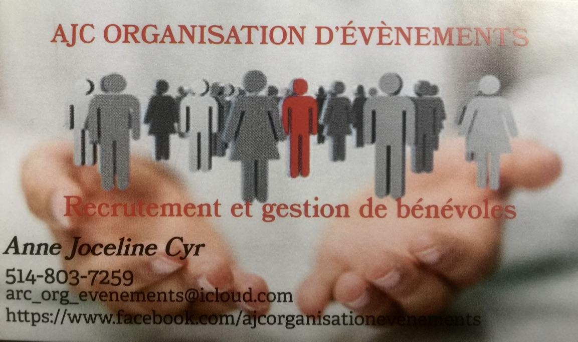 Logo AJC Organisation d'évènements