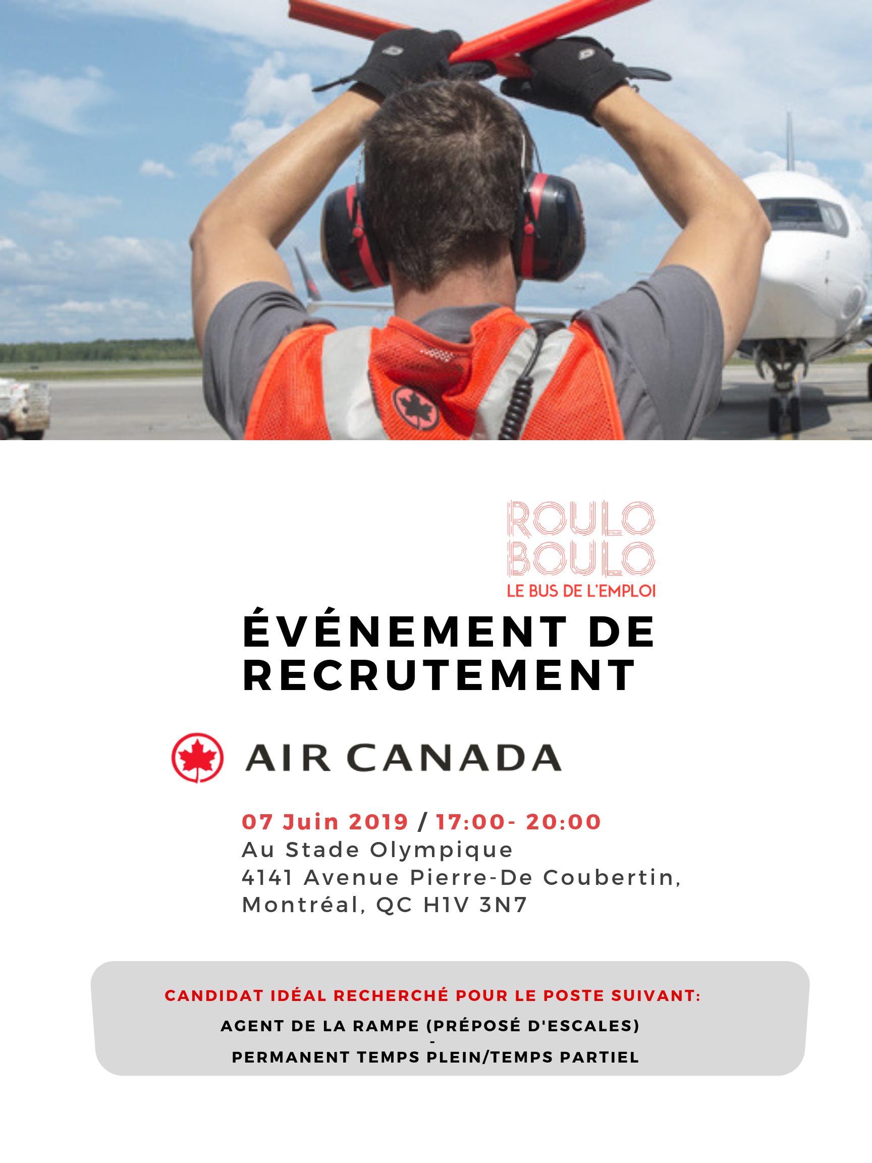 Image ÉVÉNEMENT DE RECRUTEMENT AIR CANADA
