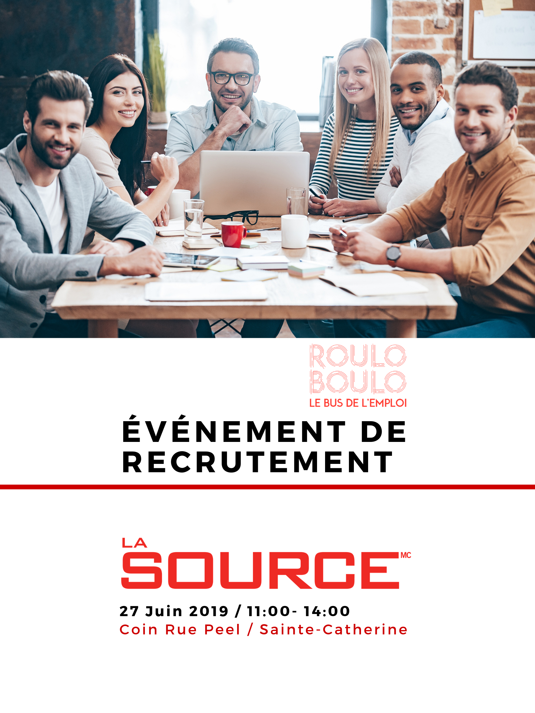 Image ÉVÉNEMENT DE RECRUTEMENT – LA SOURCE