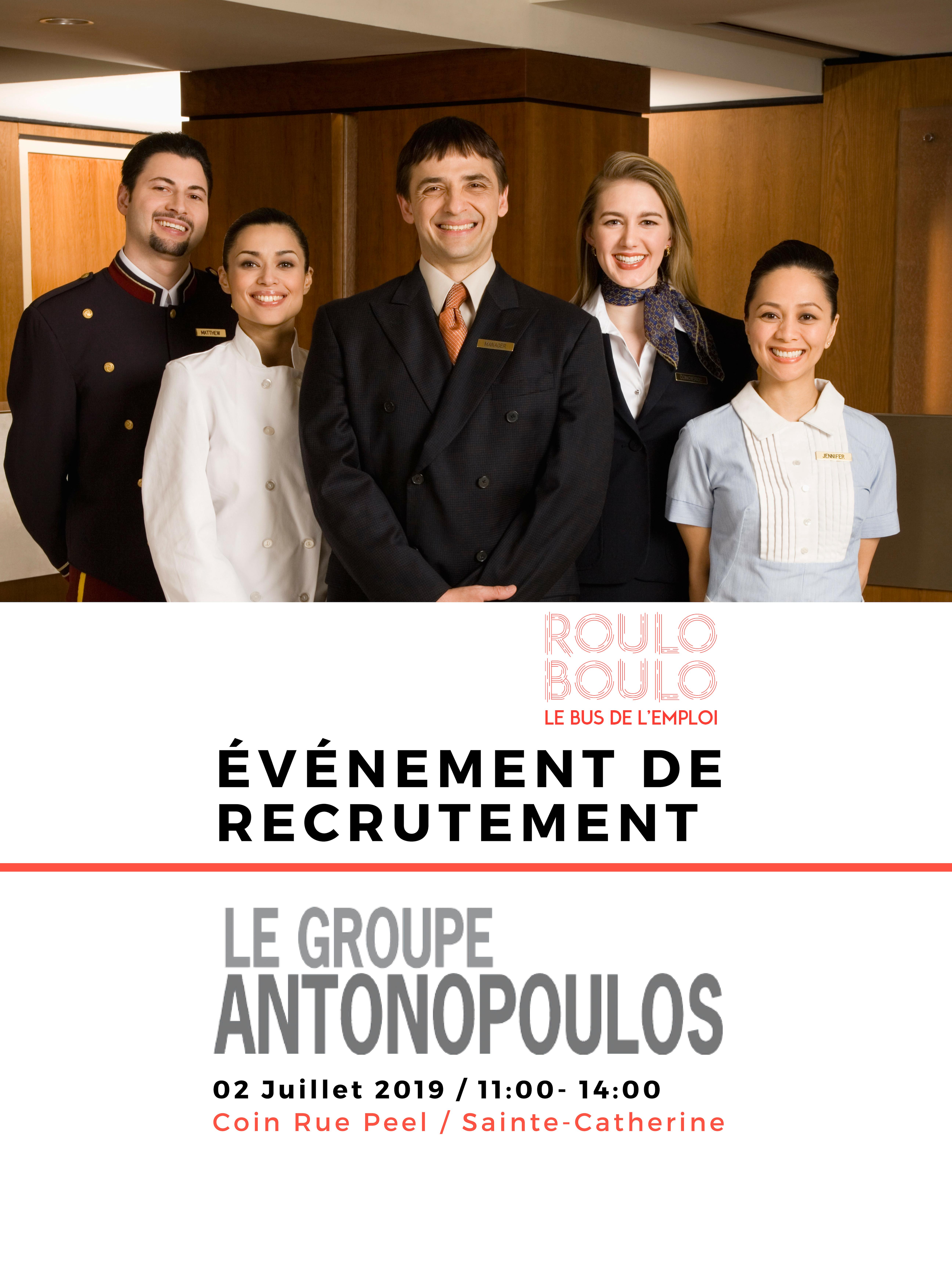 Image ÉVÉNEMENT DE RECRUTEMENT – GROUPE ANTONOPOULOS