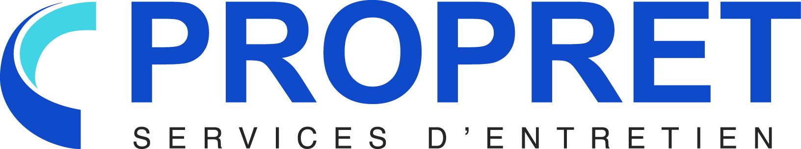 Logo PROPRET, services d'entretien